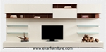 Modern style sectional tv stand living room OL814