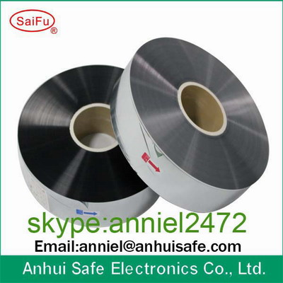 Metallized polypropylene film polyester film for capacitor use MPP film PET film capacitor film manufacturer