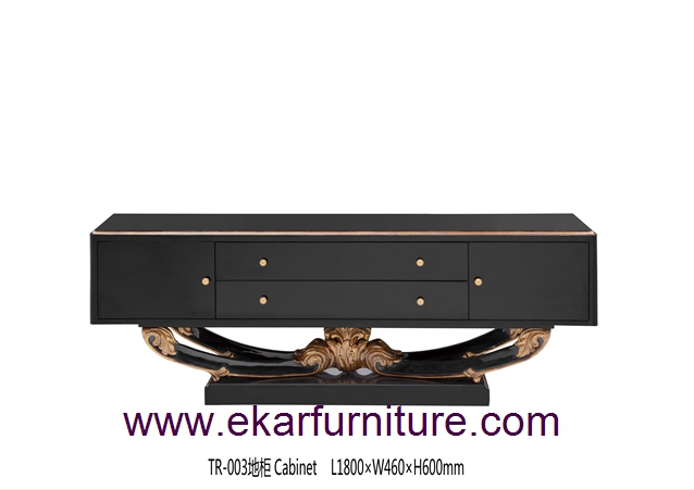 TV stands wooden furniture tv cabinet TR-003