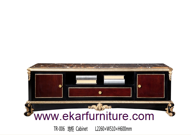 TV stands tv background marble table tv cabinet TR-006