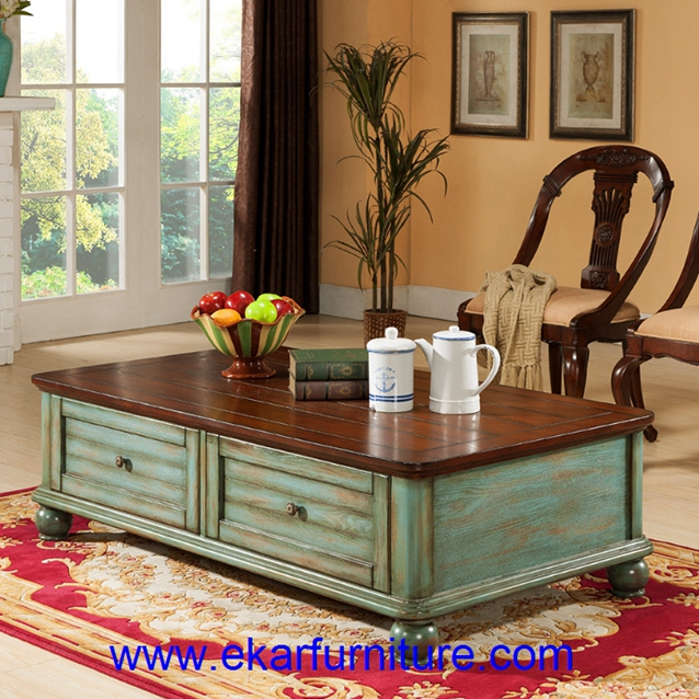 Coffee table wooden table living room furniture FY-CJ016
