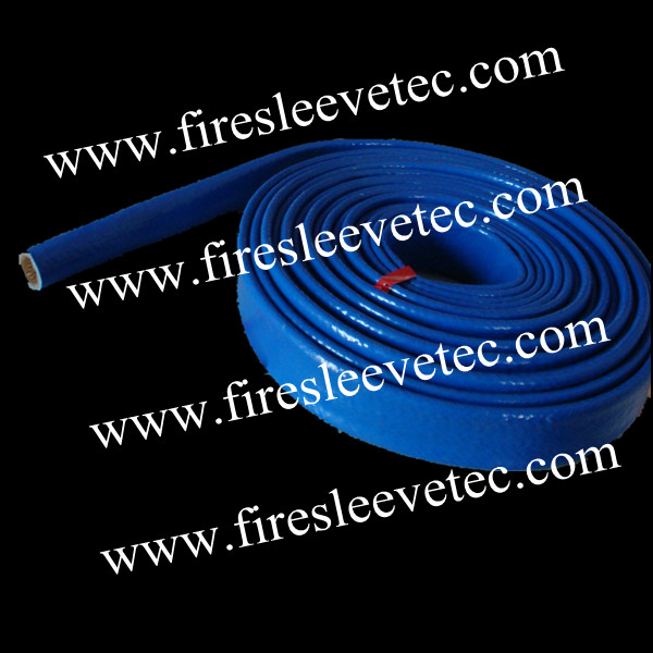 hydraulic hoses protection fire resistant sleeve