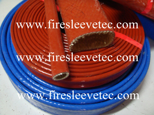 hydraulic hose protection fire sleeve