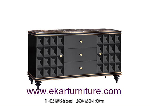 Classic table dining buffets sideboards TH-002