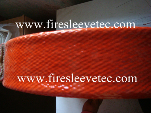 hydraulic hose protection fireproof sleeve