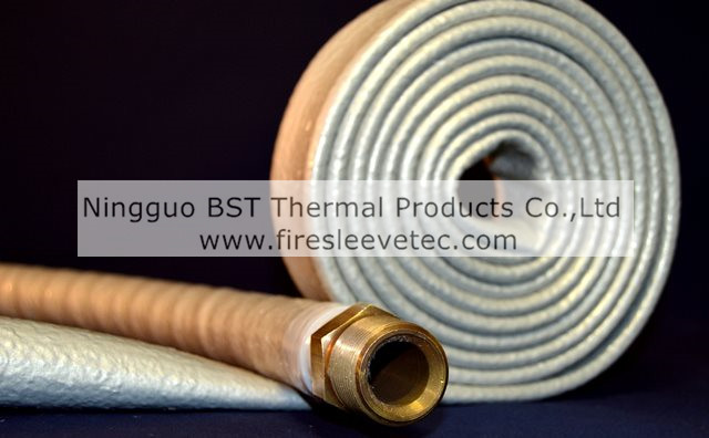hydraulic hose protection thermo sleeve