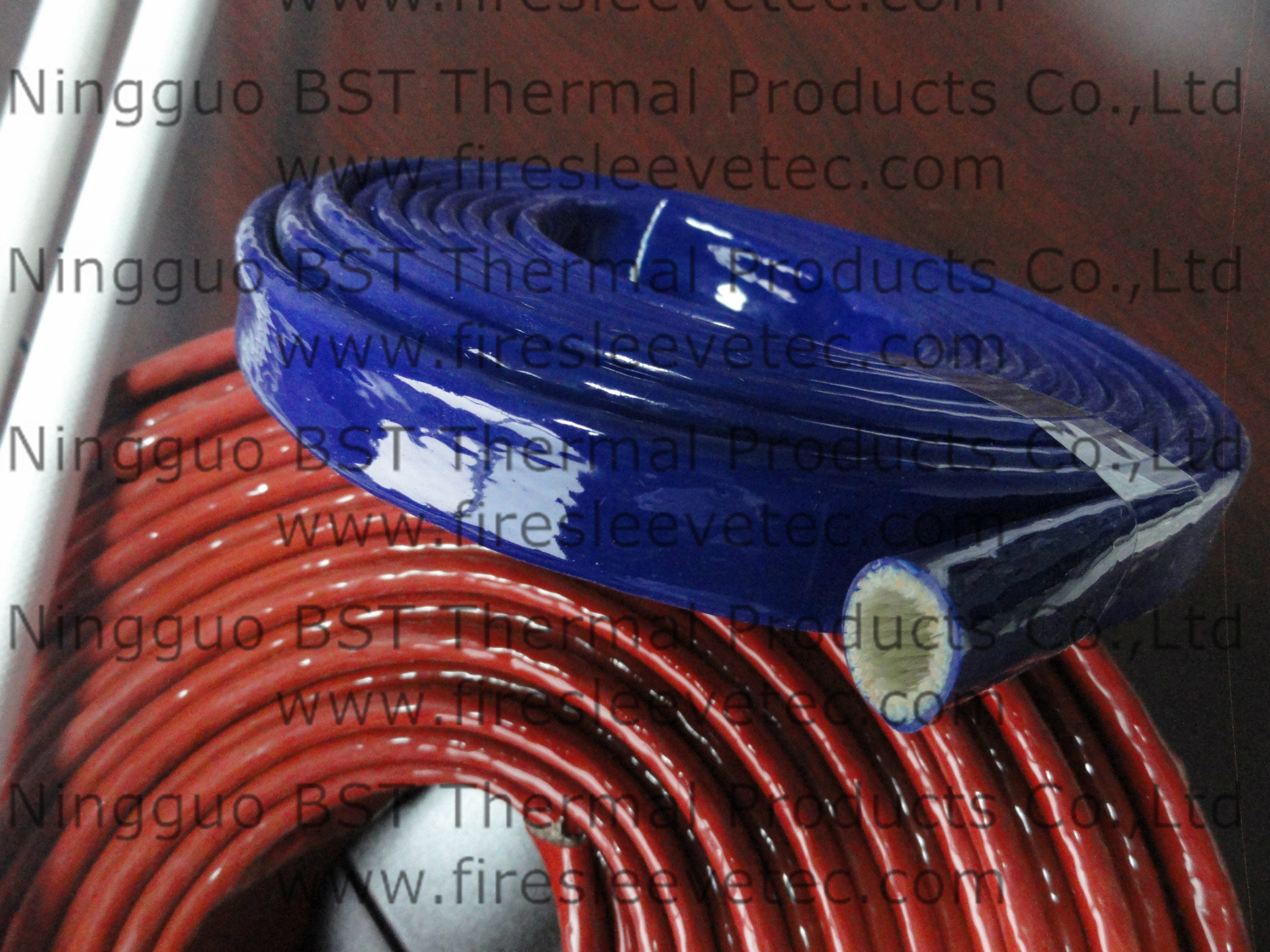 hydraulic hose protection thermal sleeve
