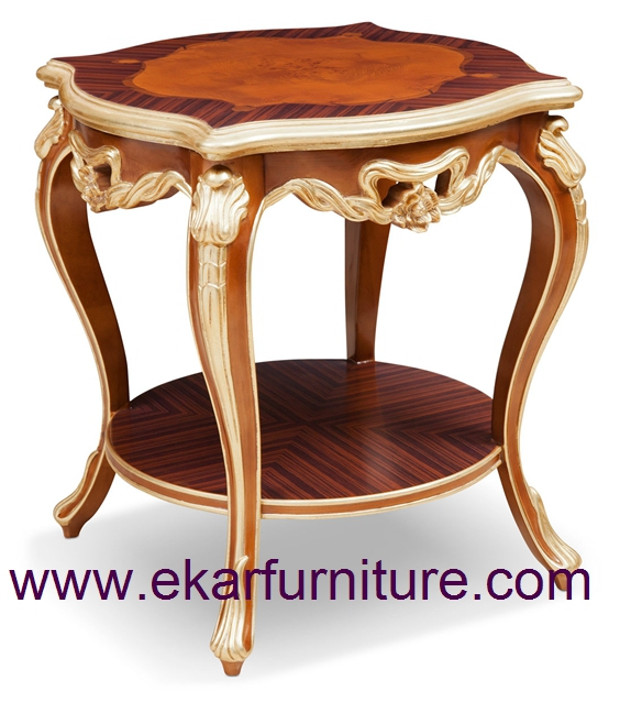 Side table wood table end table FC-128B