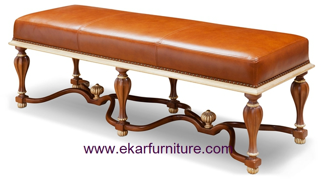 Bed stool end stool leather chair FU-138