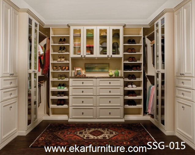 Modern wardrobe sliding door wardrobe top design wardrobe SSG-015