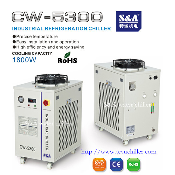 S&A water cooling system for 80W/130W/150W co2 laser