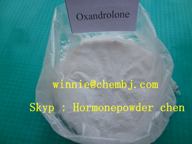 Bodybuilding Anavar white crystalloid Raw Steroid Powders Oxandrolone For Muscle Growth