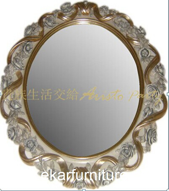 Dressing mirror classical mirror wooden frame mirror FG-103