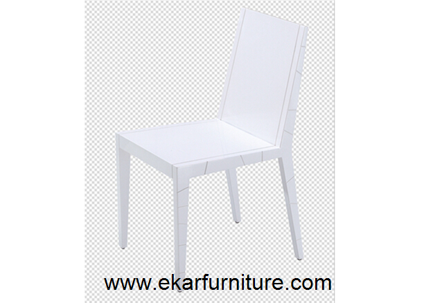 Wooden dining chair white chair OC205