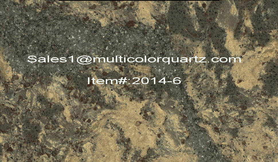 multicolors artificial quartz for kitchen countertops
