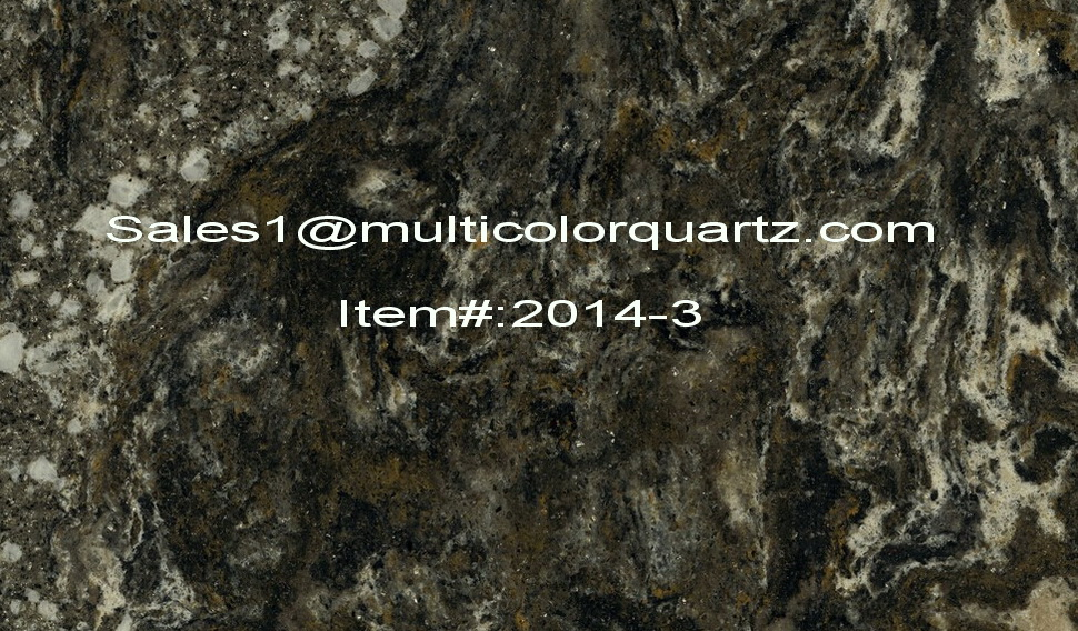multicolor quartz for kitchen countertop