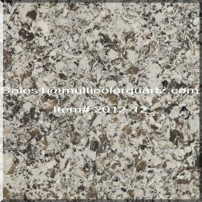 Quartz Countertop for kitchen with multicolor Quartz Countertop