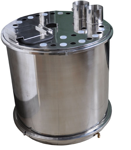 Colo-R01 Big round powder hopper