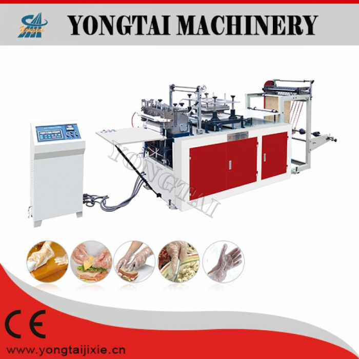 PE Sleeve Glove Machine