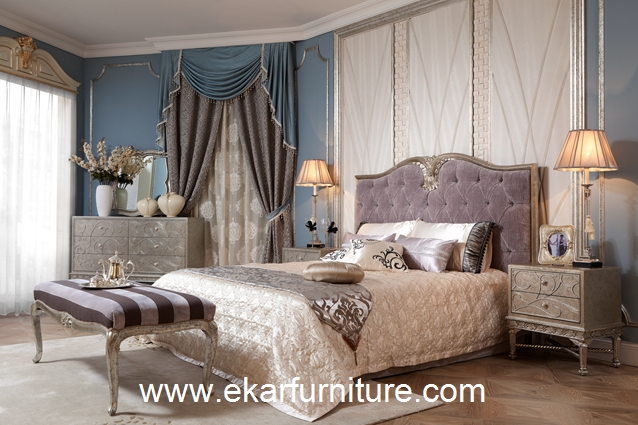 Europe style king bed bedroom sets FB-108