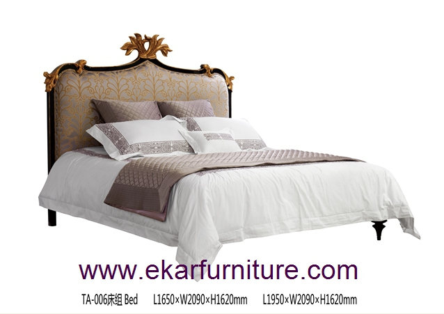 King bed bedroom furniture classic bed TA-006