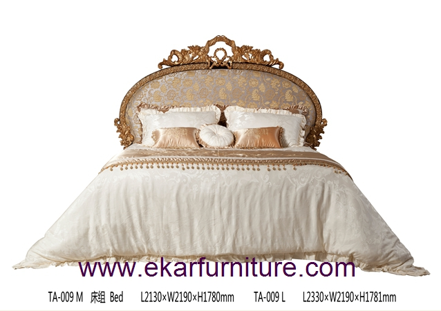 Bed classic bed king bed TA-009