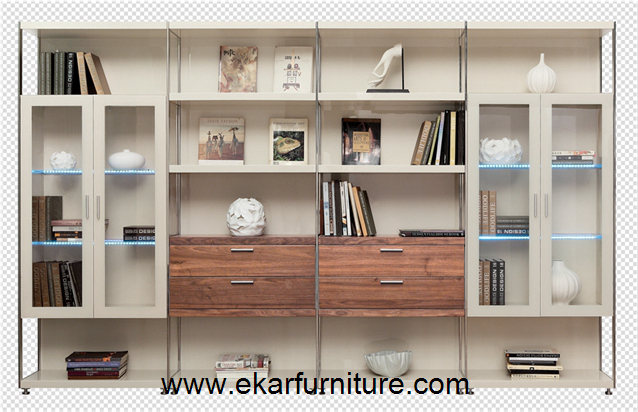 Bookcase office cabinet sectional bookcase OO821