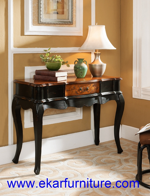 Console table wall table antique table wooden table JY-946