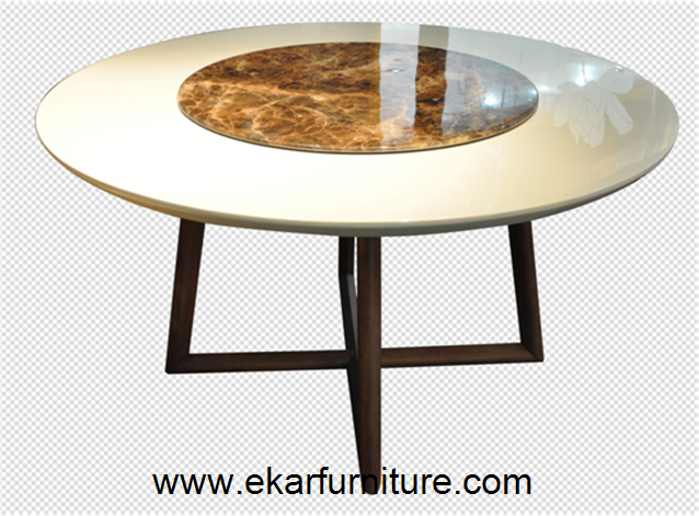 Marble round dining table OD812