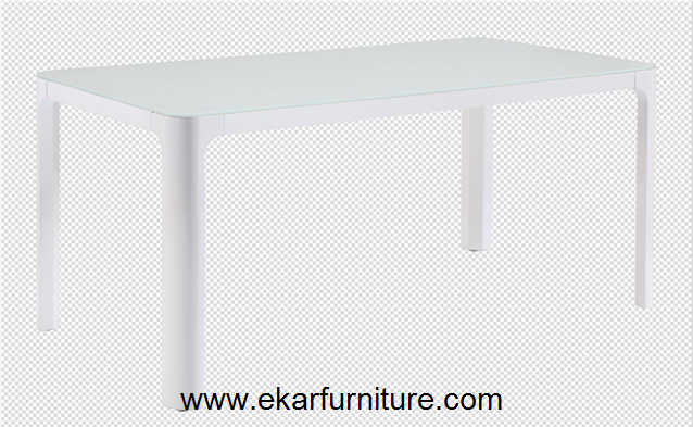 Modern dining table square white dining table OD801
