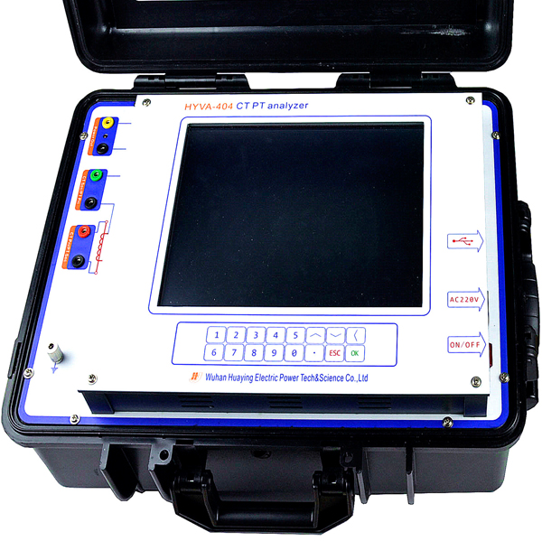 CT PT analyzer HYVA-404