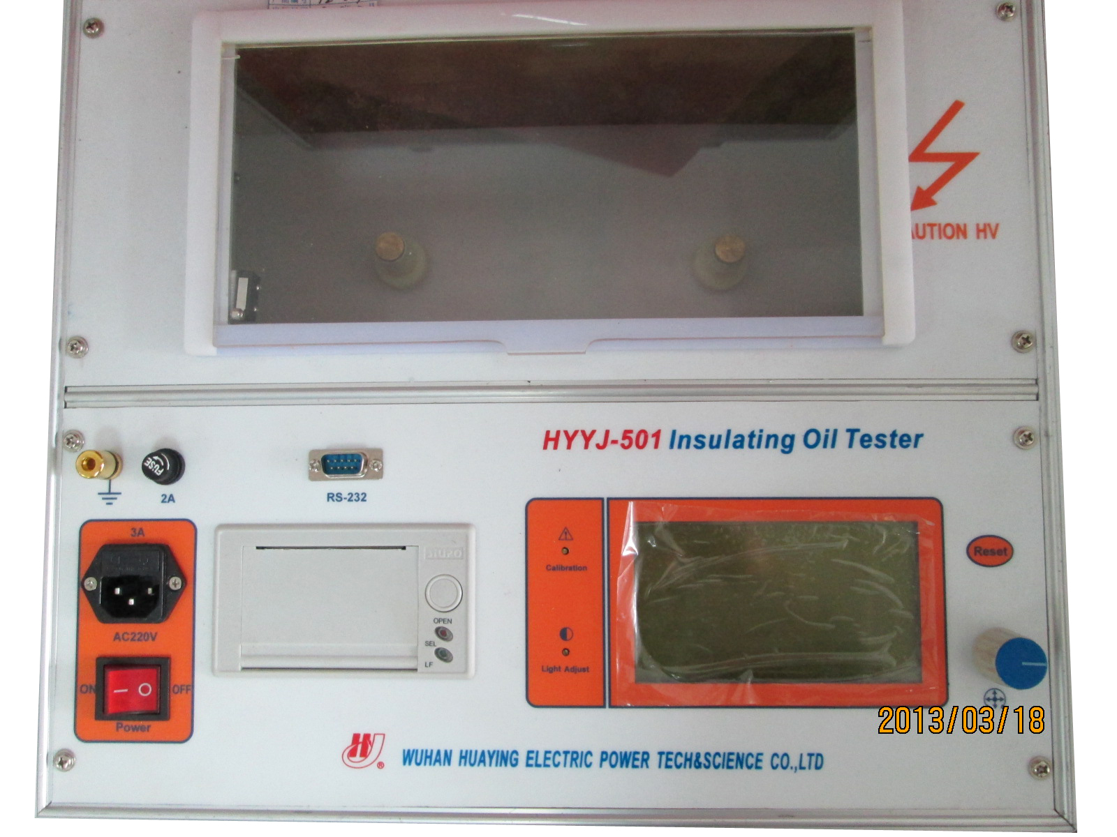 HYYJ-501 insulating oil tester