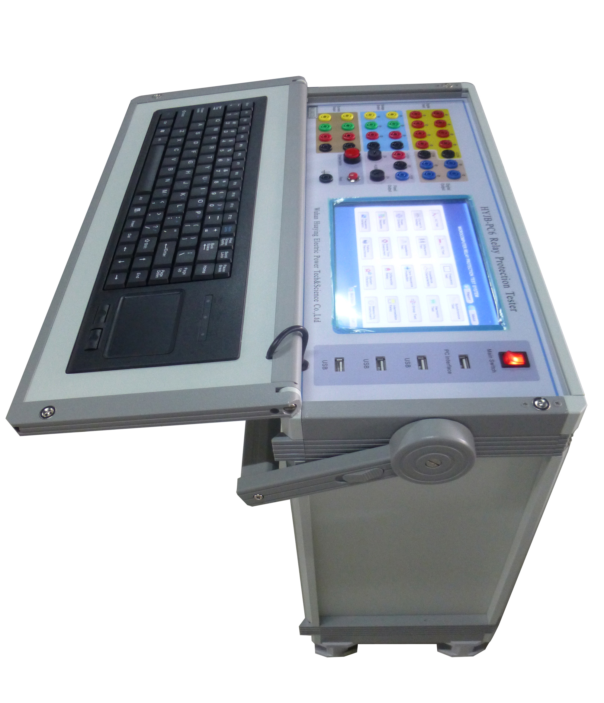 HYJB-PC6 6 Phase Relay Tester
