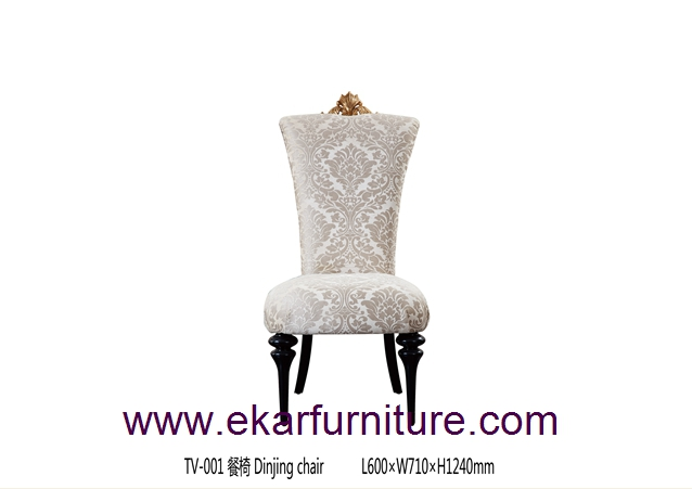 Dining chair fabric chair antiuqe chair TV-001
