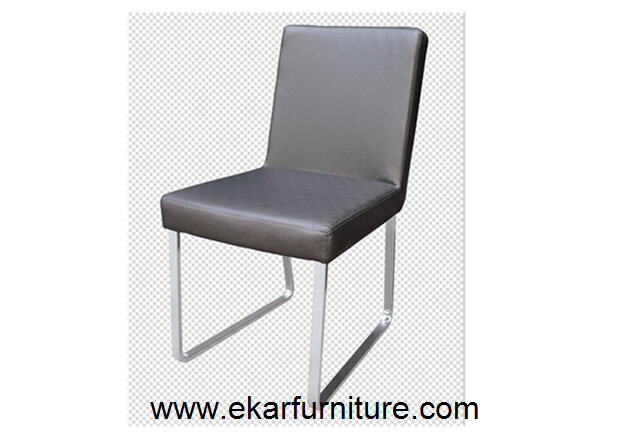 Leather & fabric dining chair modern style OC801