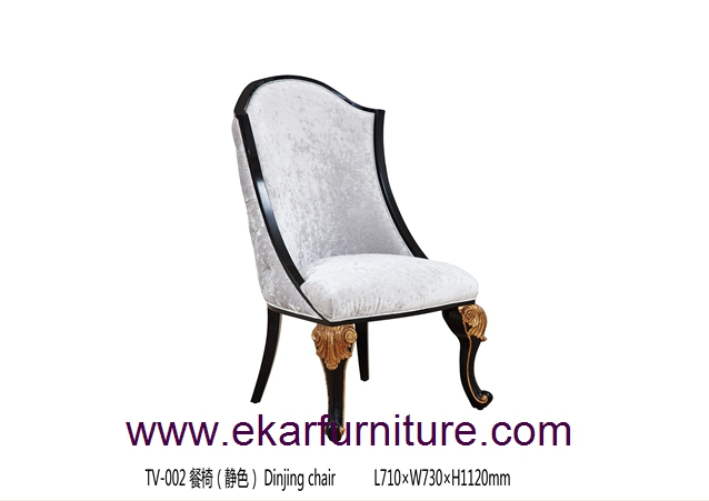 Dining chair fabric chair dining room furniture TV-002