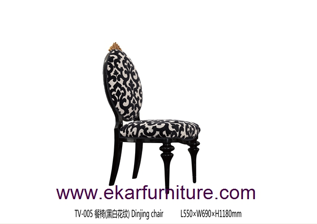 Wooden chairs dining room furniture dining chairs TV-005