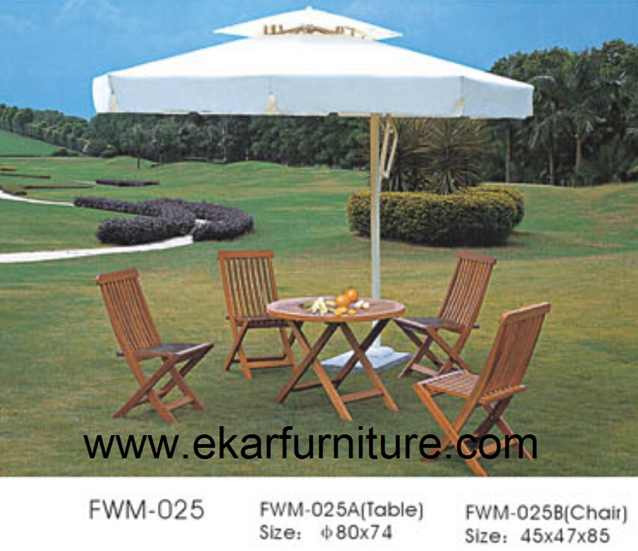 Garden dining coffee table bar furniture table and chairs  FWM-025