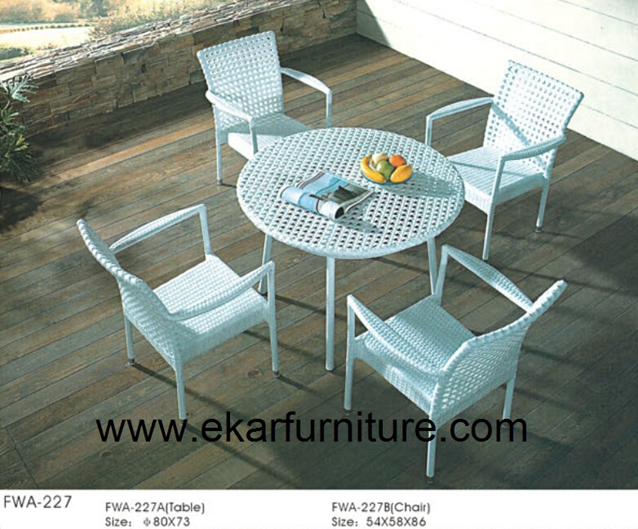 Garden dining set garden chair for sale teak dining table FWA-227
