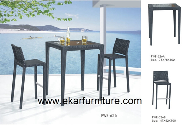 Garden chairs garden table outdoor furniture FWE-626