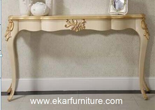 Entrance table wall table console table antique mirror FH-101