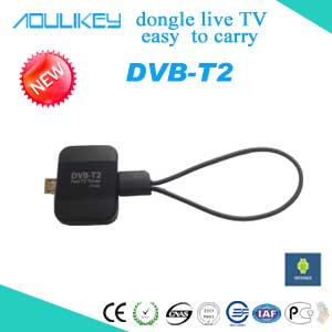 mobile HD digital tv receiver,pad tv tuner support DVB-T2 and DVB-T digital tv,for android 4.2 or higher devices use,watch live tv anywhere and anytime!