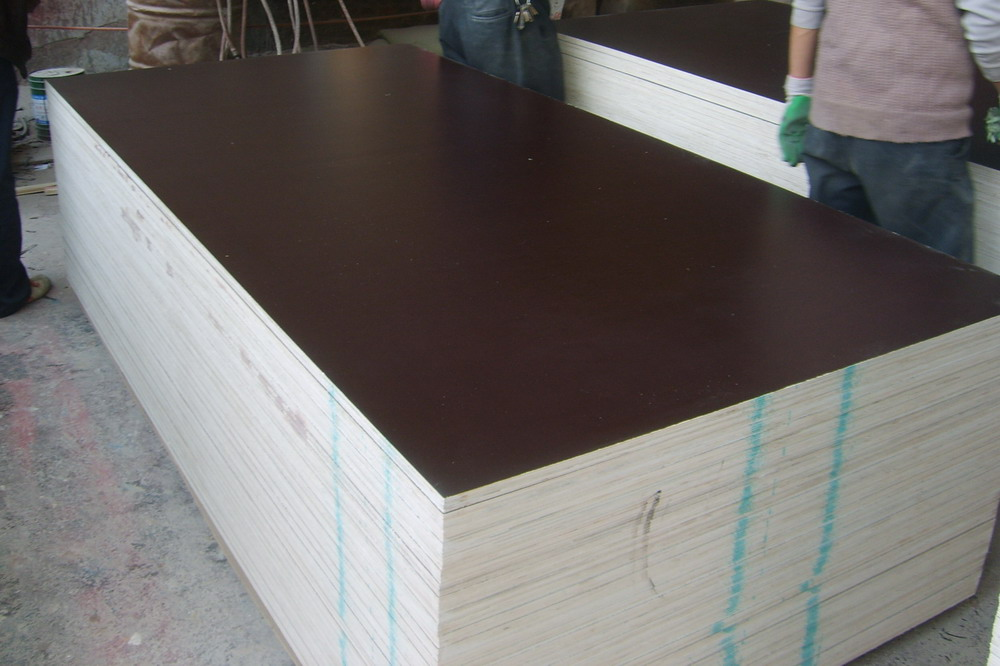 Laminated plywood of high quality from the manufacturer in China (Plywood WBP)