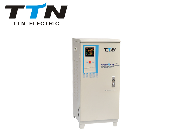 Svc10kva-30kva Servo Motor Control Voltage Regulator