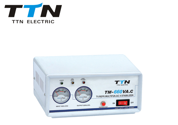Tm500va-2000va Relay Control Voltage Regulator