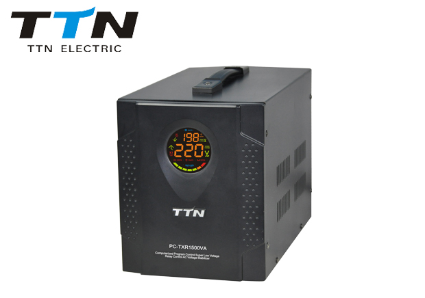 PC-txr500va-12kva Relay Control Votlage Regulator