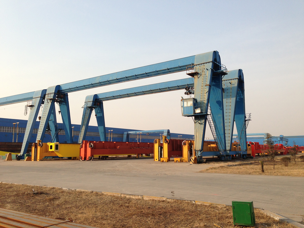 12.5 ton single girder electric hoist gantry crane