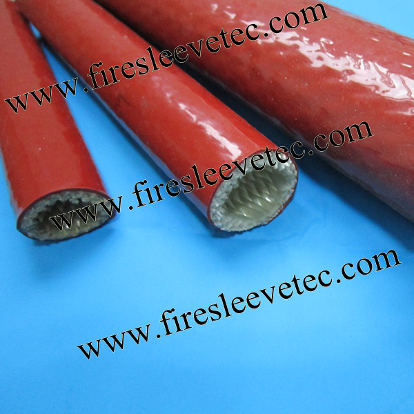 silicone coated fiberglass thermosleeve