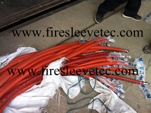 fiberglass braided thermosleeve