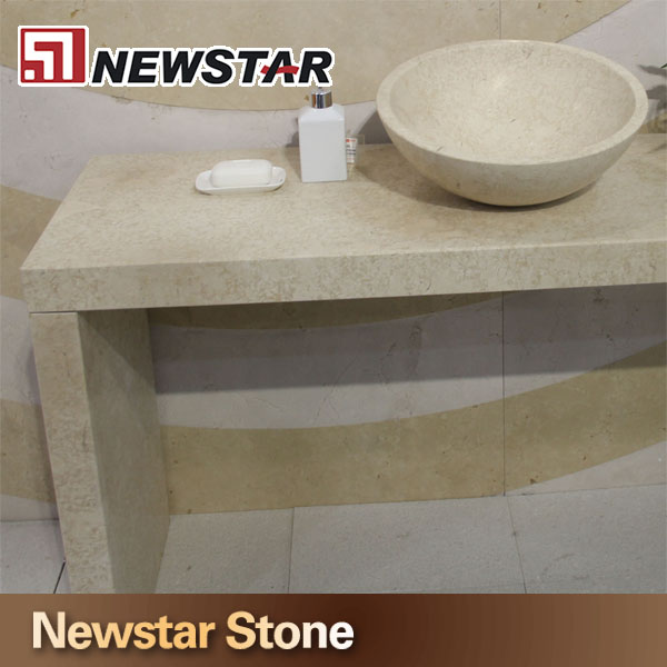 Beige Bathroom Countertops in Newstar